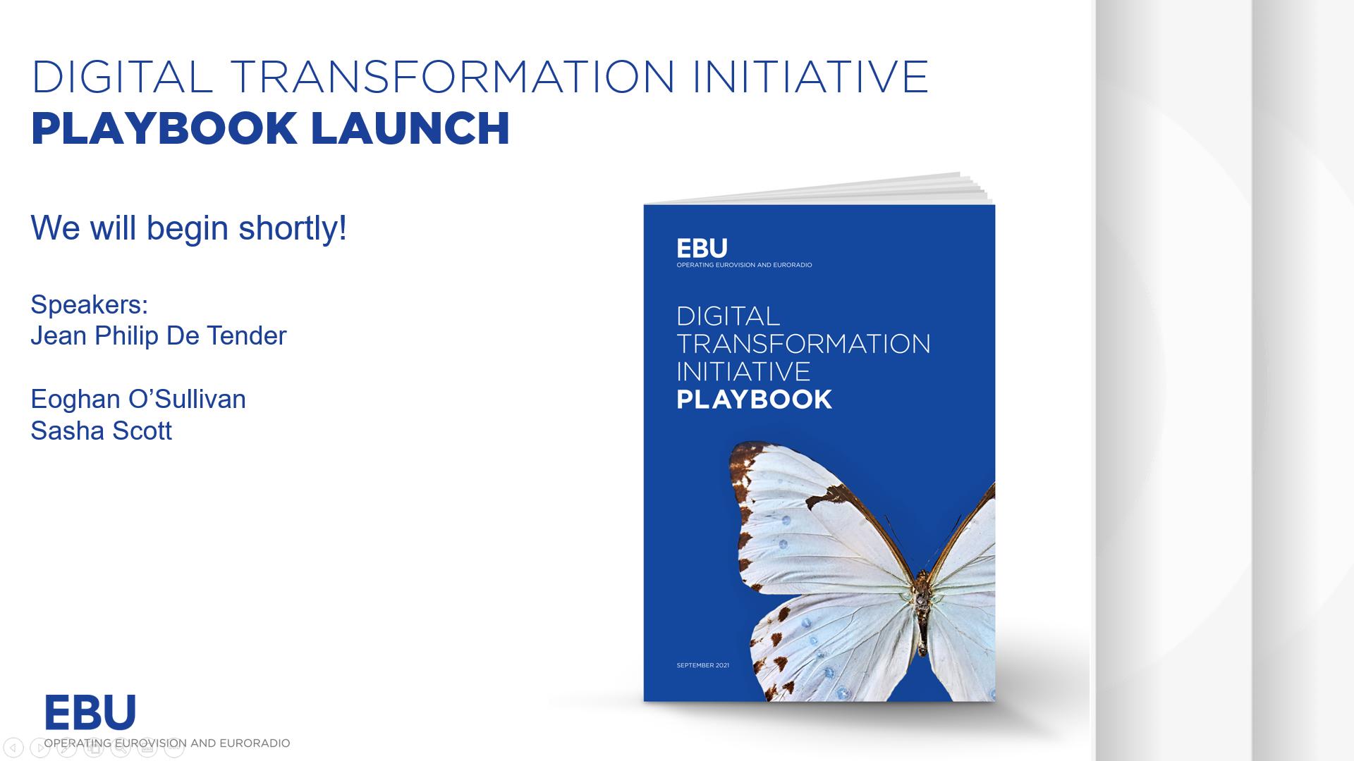 Initiative sur la transformation numérique : lancement de la feuille de route